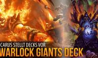 Hearthstone-Decks: Warlock Giants