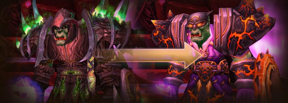 Legion: Neue Legendaries für die Transmogrifikation verwenden