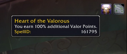 Heart of the Valorous PTR
