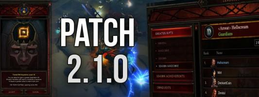 Diablo 3: Vorschau auf PTR-Patch 2.1.0