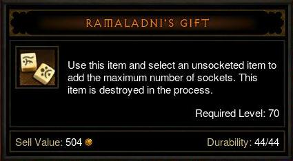 Ramalandi's Gift