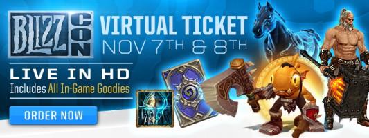 Blizzard: Belohnungen des virtuellen Tickets sind im Spiel