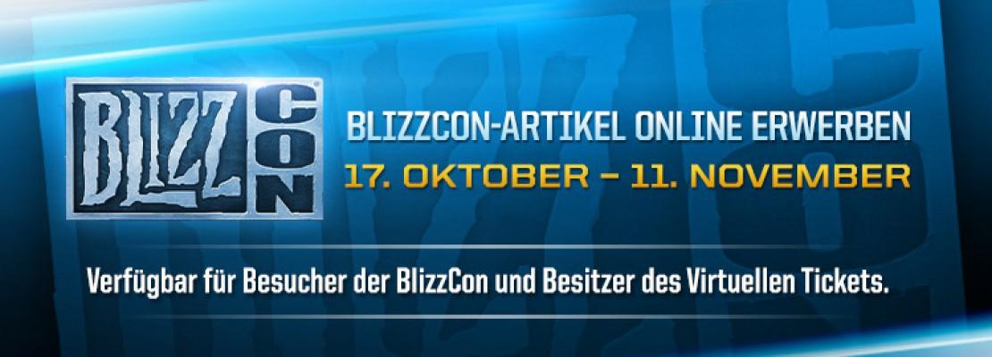 Start des Onlineverkaufs von BlizzCon-Artikeln