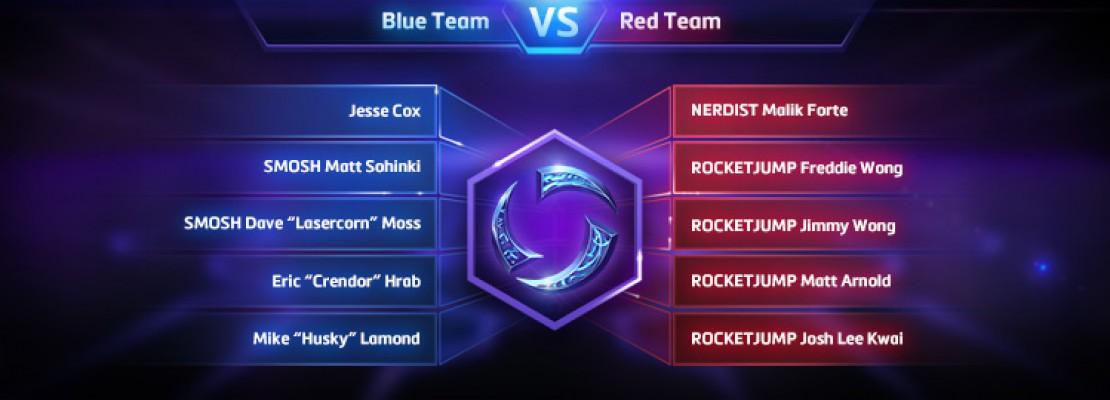 HotS: Die Teams des BlizzCon Brawls