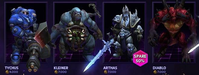 Rabatt Heroes of the Storm