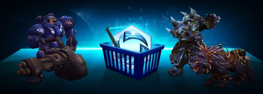 Heroes: 50% Rabatt auf den Terrorwolf, Tychus und Eisenklauenrüstung Rehgar
