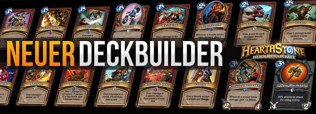 Neuer JustNetwork-Deckbuilder