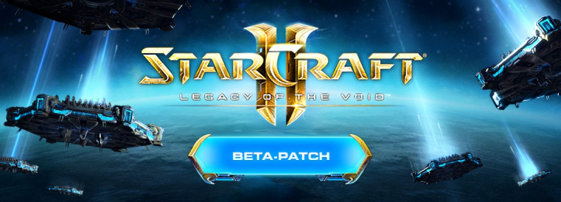 SC2: Legacy of the Void Beta Patch 2.5.5