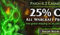 WoW: Der Patch 6.2 Launch Sale im Gear Shop von Blizzard