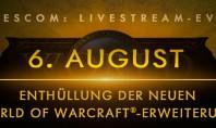 WoW: Die neue Erweiterung wird auf der Gamescom 2015 enthüllt