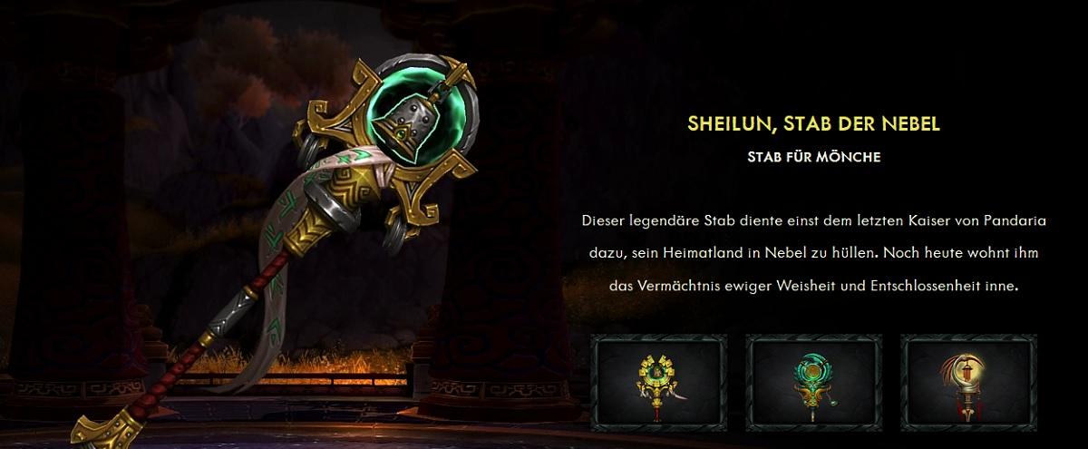 Sheilun Legion Artefakt