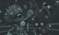 Kartenchaos: Bummbot vs. Nerv-O-Tron