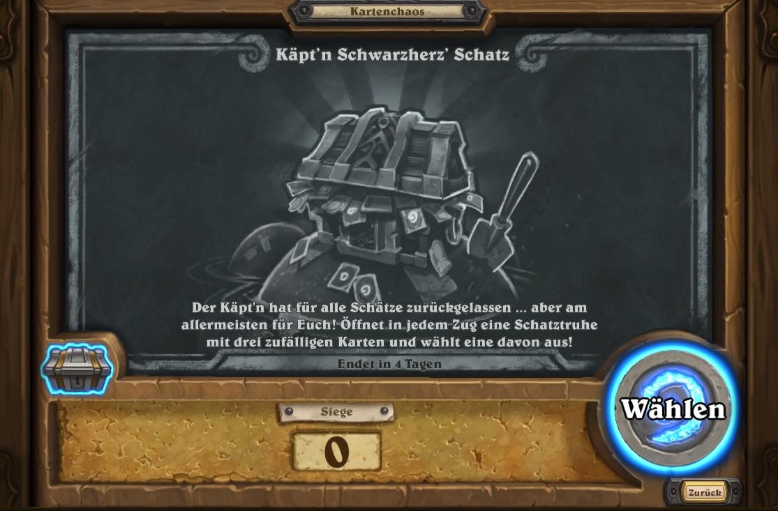 Kartenchaos Schwarzherz Schatz 2