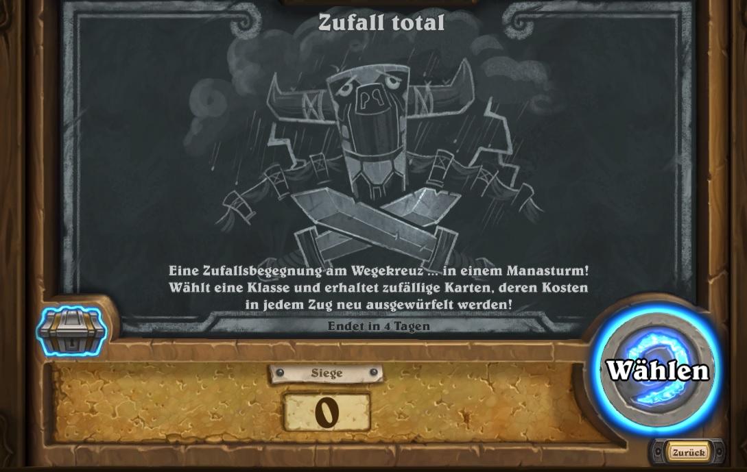 Kartenchaos Totaler Zufall 2