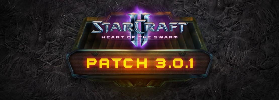 SC2: Patchnotes zu Patch 3.0.1