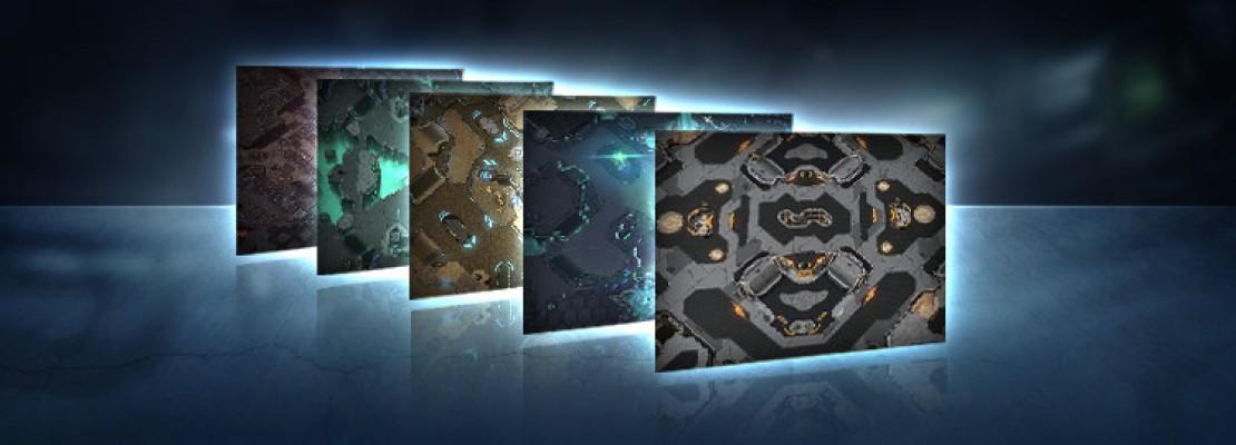 SC2: Die neuen Spielfelder für die Ladder in LotV