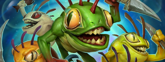 "Hearthstone: Kripparrian stellt sein ""Anyfin Can Happen""-Deck vor"