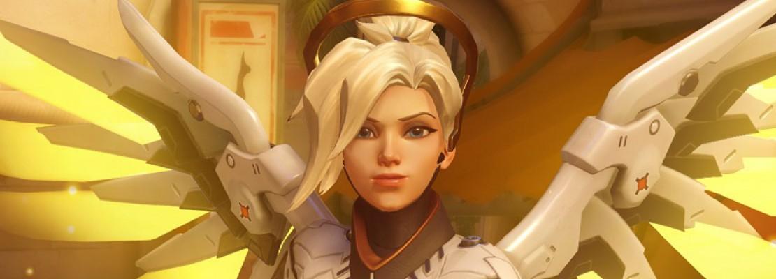 Overwatch: Ein Fehler mit dem Stab von Mercy