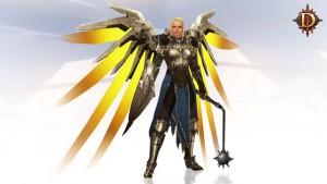 Mercys Flügel Diablo 3 Overwatch