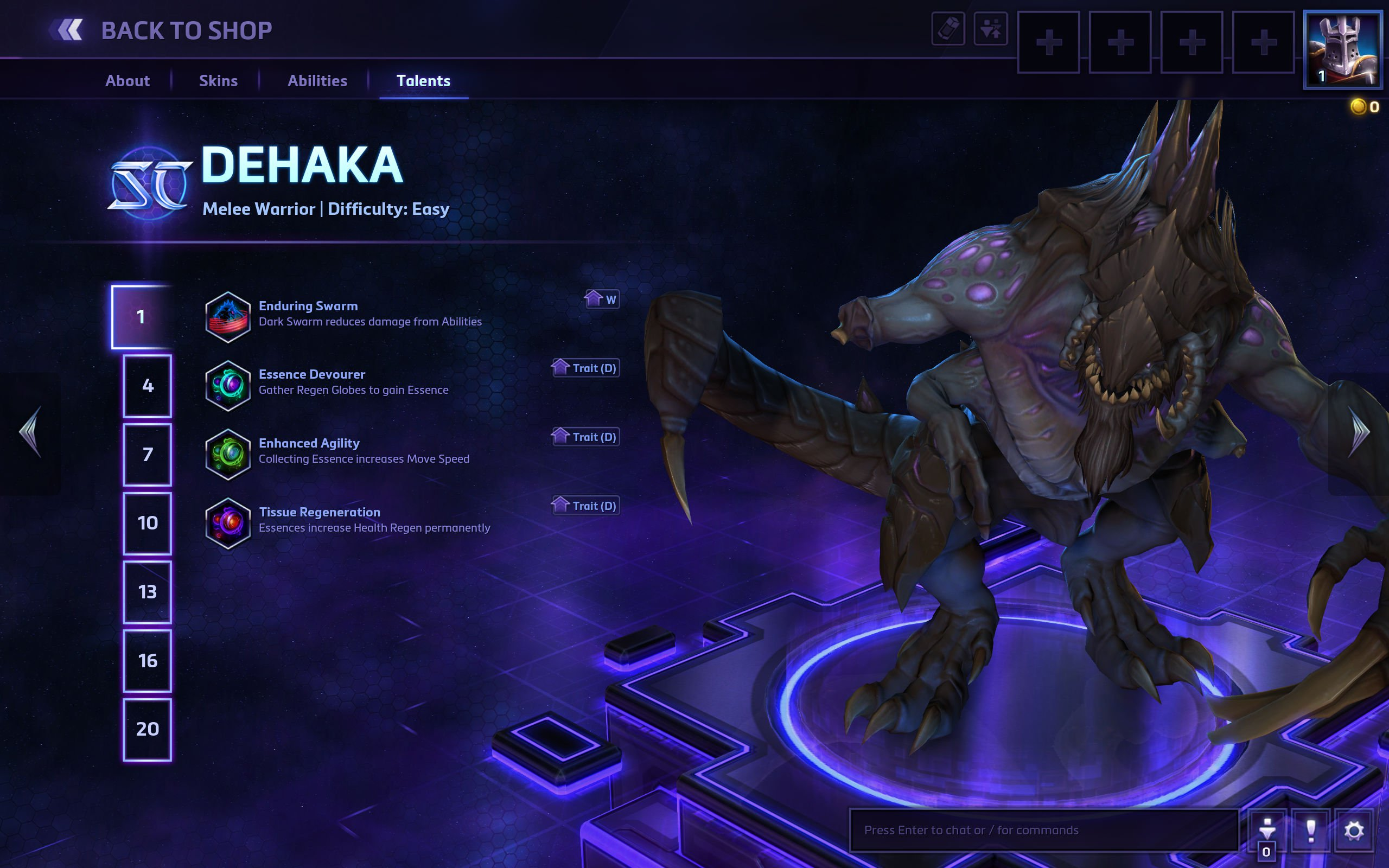 Dehaka Held Heroes of the Storm 2