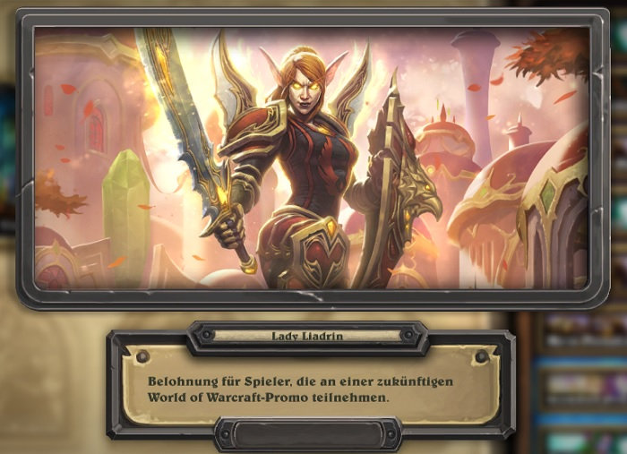 Lady Liadrin Art Hearthstone 2