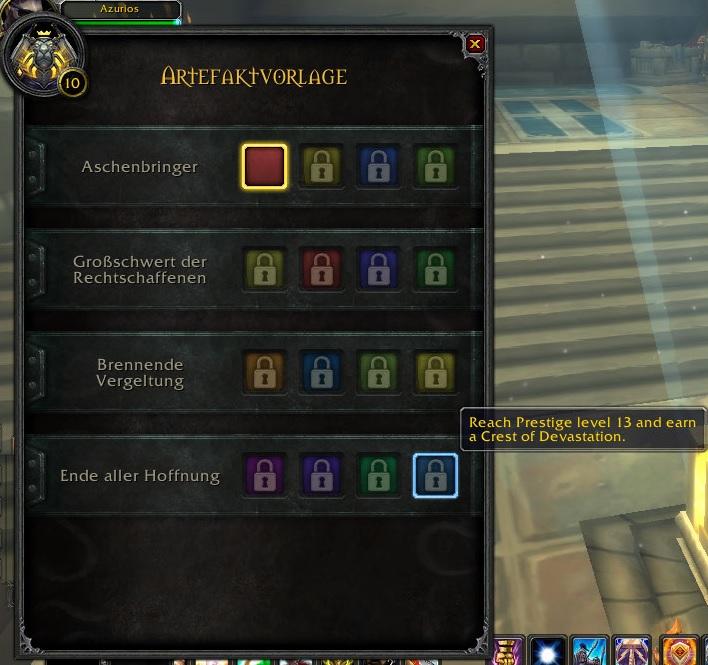 Legion Artefakte Voraussetzungen Neu 2