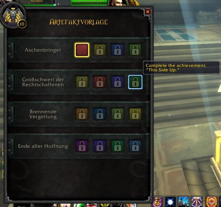 Legion Artefakte Voraussetzungen Neu 3