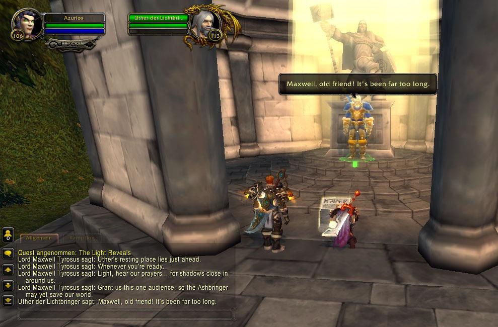 Legion Neue Vergelter Quest