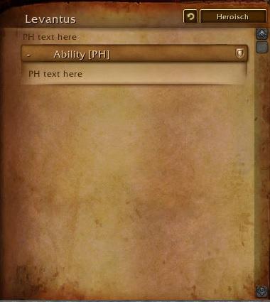 Levantus Weltboss Legion 2