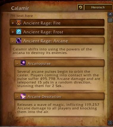 Calamir Weltboss Legion 4