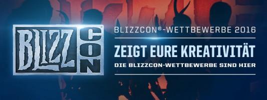"""Blizzcon 2016: """"Update"""" Informationen zu den Wettbewerben"""