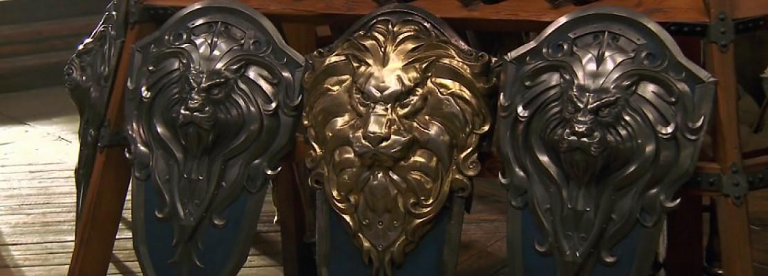 Warcraft-Film: Ein Video zu der Waffenkammer der Allianz