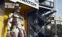 Overwatch: Riesige Action-Figuren als Werbung