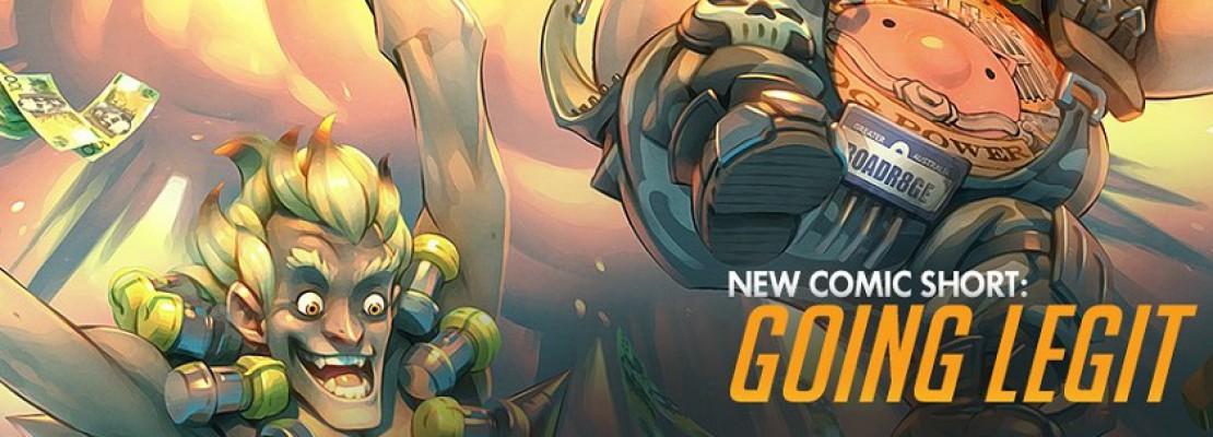 "Overwatch: Das digitale Comic ""Going Legit"""