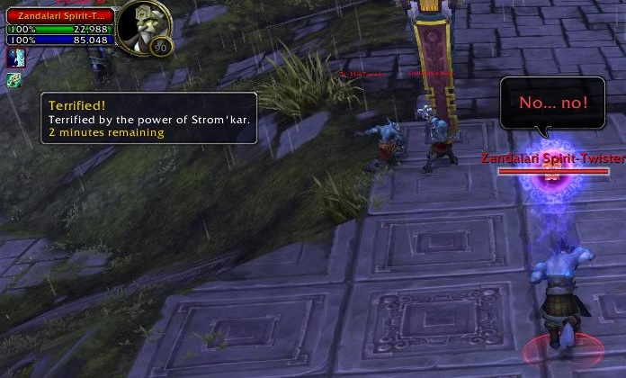 Strom'kar, the Warbreaker geheimer Effekt