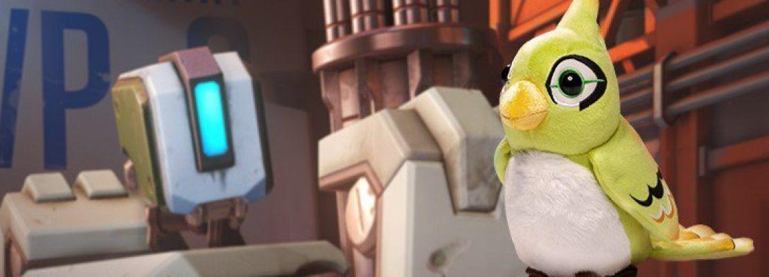 Overwatch: Es wird ein Stofftier von Ganymede geben