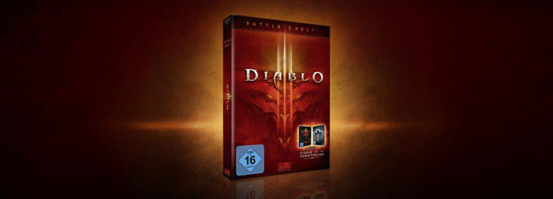 Diablo 3: Die Battle Chest ist im Shop erhältlich