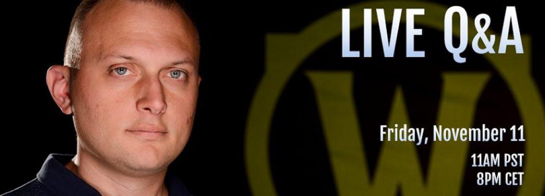 Legion: Am Freitag gibt es ein weiteres Q&A