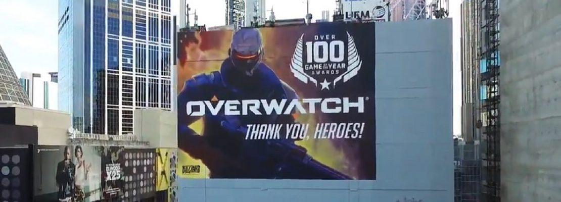 Overwatch: Ein Wandgemälde zum Jubiläumsevent