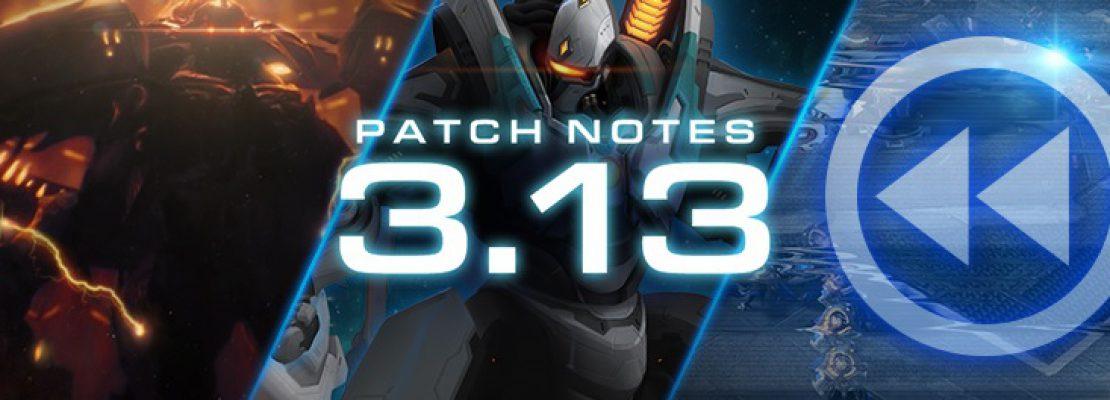 SC2: Die Patchnotes zu Patch 3.13.0
