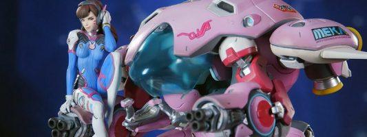Overwatch:  Eine Statue von D.Va kann vorbestellt werden