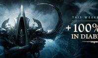 Diablo 3: Ein Wochenende mit doppelter Erfahrung und eine Zurücksetzung von legendären Sockelsteinen