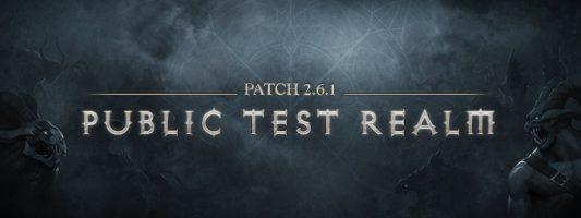 """Diablo 3: """"Update"""" Die PTR Patchnotes zu Patch 2.6.1"""