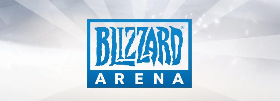 Update: Die Blizzard Arena wurde eröffnet