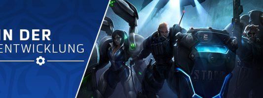In der Entwicklung: Helden-Updates und Gesetzeshüter-Skins