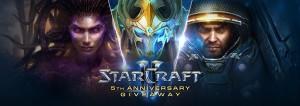 Sc2 Fünfjährige Jubiläum von StarCraft II Gewinnspiel,