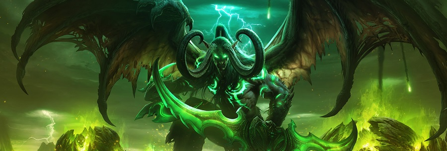 WoW Legion Addon Illidan Wallpaper