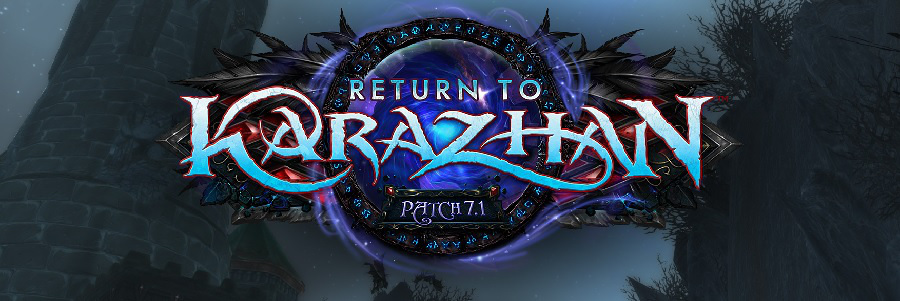 Karazhan Patch 7.1 Bild Blog Header 2