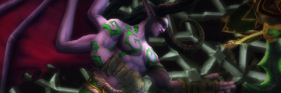 Legion Cinematic Illidan 2 Erinnerung