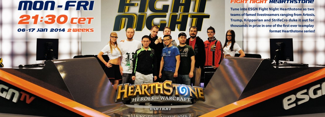 Hearthstone: ESGN Fight Night Episode 2
